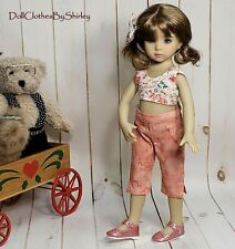 Little Darling Summer Capri Outfit sized to Fit Dianna Effner 13 inch Doll