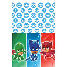 PJ MASKS PLASTIC TABLE COVER ~ Birthday Party Supplies Decorations Cloth Disney