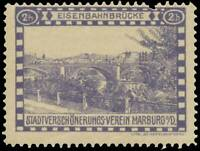 Reklamemarke Eisenbahnbrücke - 439927