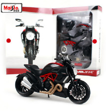 Maisto 1:12 Ducati DIAVEL CARBON Assemble DIY Motorcycle Bike Model KITS IN BOX