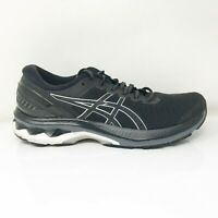 Asics Womens Gel Kayano 27 1012A649 Black Running Shoes Lace Up Low Top Size 9.5