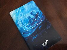 Montblanc Jules Verne Warranty Reply Card Booklet Documents