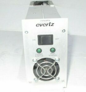 Evertz 7700PS Power Supply for 7700 Multiframe