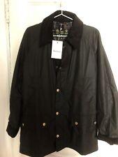 Barbour Ashby Waxed Jacket Olive Men's Medium Sport Coat NWT New