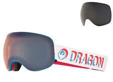 "Dragon ""X2"" SN-17095 Verge Lumalens Flash Blue / Dark Smoke Goggles"
