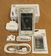 Samsung Galaxy Ace GT-S5830i Sim Free Unlocked White(la Fleur)Android Smartphone