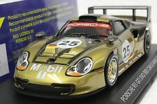 FLY A54 PORSCHE 911 GT1 EVO TEST CAR LE MANS 1997 NEW 1/32 IN DISPLAY CASE