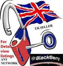 Blackberry Unlock Code network unlocking 8520 9300 9700 etc Fast Delivery
