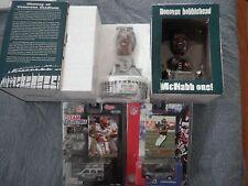 2 Donovan McNabb Bobble head Bobblehead & 2 Baseball Car, Card Lot: original box