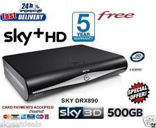 SKY PLUS + HD Box - 500gb-Sky Amstrad drx890r-ON DEMAND
