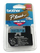 "Brother P-Touch BLUE Tape 12mm 1/2"" Labeling System M Tape M531"