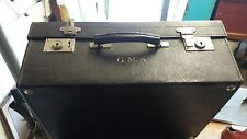 Vintage C. 1925 Leather VANITY CASE /overnight case