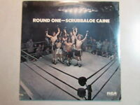 SCRUBBALOE CAINE ROUND ONE SEALED 1973 LP CUT OUT LOVERBOY GUITARIST PAUL DEAN