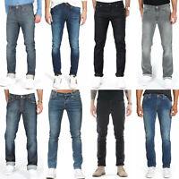 B-Ware - Nudie Herren Stretch Jeans Hose - Slim Fit, Skinny Fit, Röhrenjeans