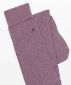 New Women's Savasana Sock Thigh HIgh - FRMY - M/L