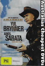 Adios Sabata DVD NEW, FREE POSTAGE WITHIN AUSTRALIA REGION ALL