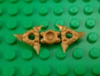 *NEW* Lego Gold Ninja Throwing Stars Sprue Figures Minifigs 1 pair - 2 pieces