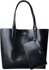 Kate Spade Arch Large Reversible Tote + Pouch Patent Leather WKRU6145