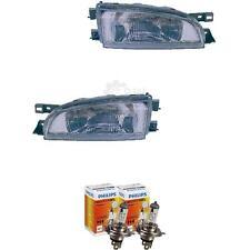 Scheinwerfer Set für Subaru Impreza Bj. 96-98 inkl. PHILIPS Lampen