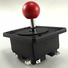 NEW HAPP 4 way MS PacMan/Galaga Red Ball Joystick Replacement - MikesArcade