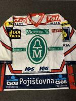 2003-04 Petr Prucha HC Moeller Pardubice Authentic ELH Hockey Jersey! NHL XL