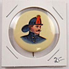 Firemen Old Firefighter Pin Pinback Button Badge