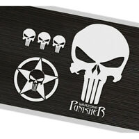 The Punisher Car Sticker Skull Auto Decal Door Windshield Vinyl Reflective Hood