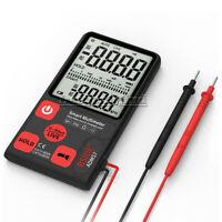 ADMS7 LCD Digital Voltmeter Ammeter Ohm Meter Multimeter Voltage AC DC Tester