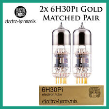 New 2x Electro Harmonix Gold 6H30Pi | Matched Pair / Duet / Two Tubes | EH