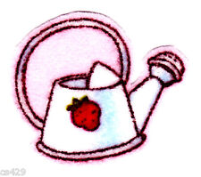 """1.5"""" Strawberry shortcake watering can mini fabric applique iron on character"""