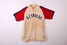 "VTG 1950s LLYOD BYERLY SPORTING GOODS PORTLAND OREGON ""REYNOLDS"" BASEBALL JERSEY"