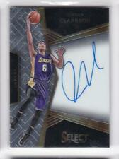 2016-17 Jordan Clarkson #/99 Auto Panini Select Lakers