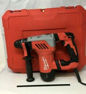 "Milwaukee 5268-21 1-1/8"" SDS-Plus Rotary Hammer Drill Kit, GR"
