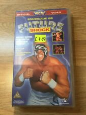 WCW Starrcade 89 FUTURE SHOCK Wrestling Video VHS - rare WWE WWF Tape Pal