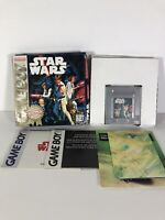 Star Wars Original Gameboy Nintendo Complete Box Case Manual Retro Vintage 1996
