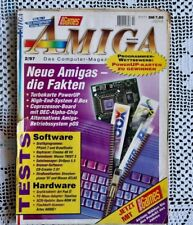 AMIGA Magazin, Nummer : 2/97 ( NEUE AMIGA´s - Fakten?)