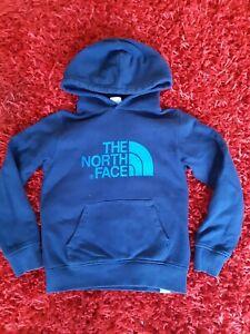 Kids unisex north face hoodie sweatshirt size S/p. Age 6/7 125/135cmsHardly used