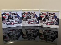Lot of 3 2020 Topps Chrome Update Series Baseball MLB Mega Box FACTORY SEALED