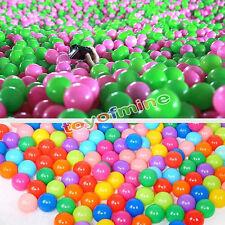 "1.57"" 100Pcs Ball Ocean Balls Soft Plastic Ocean Ball Baby Kid Swim Pit Toy"