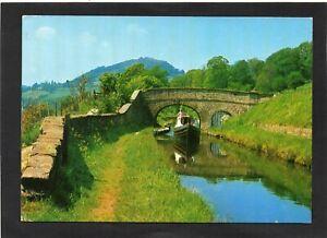 Sun Trevor Bridge, Llangollen Canal, Denbighshire, Wales. Publ:-Salmon. p/u 1992