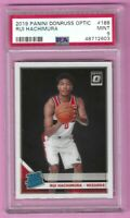 2019-20 Panini Donruss Optic Rui Hachimura Rated Rookie Card #188 PSA 9 Mint