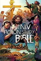 Action Bible: The NIV Action Study Bible (2018, Hardcover)