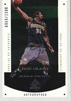 NENE HILARIO RC 02-03 SP AUTHENTIC ROOKIE #148 AUTO #0968/1500 BK4990