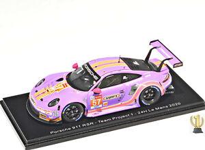 1:43 Spark S7988 Porsche 911 RSR, 24hrs LeMans 2020, #57