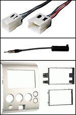 Stereo Radio Dash Install Kit/Wire/Antenna Adapter for 04-07 Titan/04-5 Armada