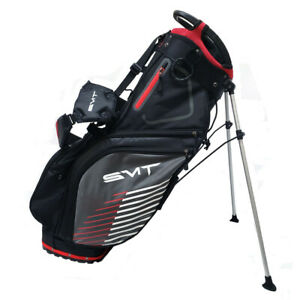 New SMT Golf Stand Bag - 4 Way Top w/ Full Length Dividers - Stay Flat Base