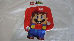 Nintendo LEGO SUPER MARIO STAFF EMPLOYEE SHIRT RARE