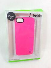 Belkin Grip Neon Glo Case, iPhone 5/5s, Pink, OEM, Authentic, Open Box