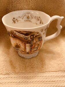 royal doulton brambly hedge Winter Beaker Teacup