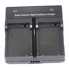 Dual Twin Battery Charger for Canon LP-E8 LC-E8e EOS 550D 600D 650D 700D Kiss X4